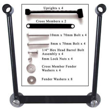 Willie & Max Universal Motorcycle Saddlebag Hard-Mount Kit