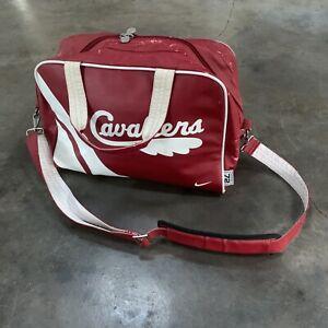VTG Nike 72 Rewind Cleveland Cavaliers NBA Leather Duffle Bag O/s