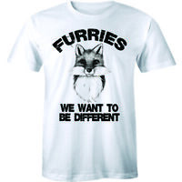 Furries We Want To Be Different Fury Fursuit Cosplay Shirt Men's T-shirt Gift