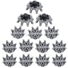 14pcs Golf Spikes Pins 1/4 Turn Fast Twist Shoe Spikes Replacement Set