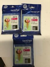 Brother LC3213M Genuine Magenta Ink Cartridge for Brother Printers X3 Ref240
