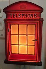 Retro Style Nightlight Lamp London Phone Booth Design Home Decor. Souvenir Gifts