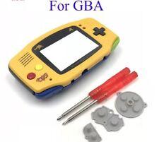 Carcasa para game boy advance alta calidad new Edicion Pikachu Pokémon