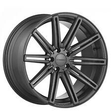 "(4rims) 22"" Vossen Wheels CV4 Matte Graphite Rims"