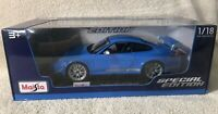 Maisto Porsche 911 GT3 RS 4.0 Special Edition 2020 New Release 1:18  #31703