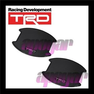 TRD Door Handle Protector Cover 2 Pieces MS010-00023 TOYOTA VOXY ZRR80G/ZRR80W