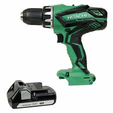 HITACHI DS18DGL TOOL ONLY 18V Li-Ion Cordless 18 Volt Drill & BSL1815S Battery