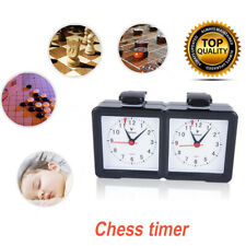 Chess Game Timer Time Count Up Down Clock for Board Game Player Competition