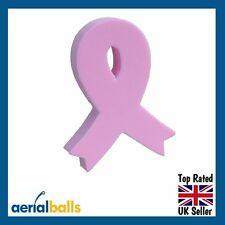 Pink Ribbon Breast Cancer Awareness Aerial Ball Antenna Topper