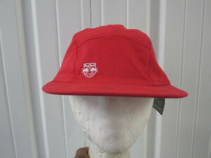 adidas MLS NEW YORK RED BULLS SEWN 5 PANEL RED HAT CAP STRAPBACK NEW W/ TAGS