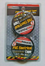 New listing Protouch Pvc Electrical Tape ~ 2 Roll Pk ~ New
