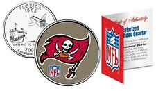 TAMPA BAY BUCANEERS * Officially Licensed * NFL FLORIDA U.S. State Quarter Coin