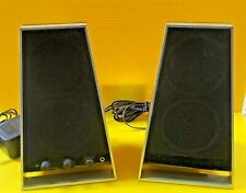 USED Altec Lansing VS2620 Computer Speakers 5W w/ AC Adapter (C7-3-G89)