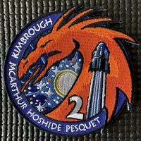 """NASA SPACEX CREW-2-ASTRONAUT ISS MISSION PATCH - 4"""""""