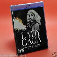 LADY GAGA THE MONSTER BALL TOUR At Madison Square Garden BLU-RAY BluRay