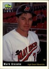 1991 High Desert Mavericks Classic/Best #20 Mark Gieseke