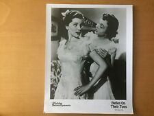 HOLLYWOOD ACTRESS Myrna Loy Jeanne Crain Belles On Their Toes TV Publicity Photo