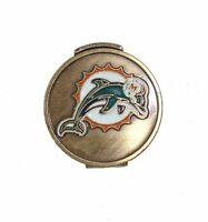 Miami Dolphins Hat Clip with Golf Ball Marker