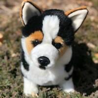 Auswella Plush 17 Inch Carlton Corgi Plush Stuffed Animal-Corgi Plush Dog