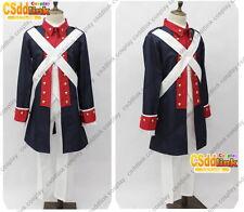 Axis Powers Aph America Uniform Revolutionary War Cosplay Costume