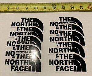 10 Pack North Face Sticker Decal