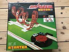 Vintage Majorette NOS Motor Starter race track