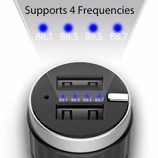 Perbeat Handsfree Bluetooth Wireless FM Transmitter Streaming Car Kit Player