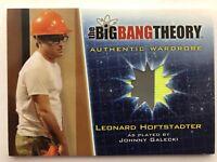 Big Bang Theory Season 5 Leonard Wardrobe Card M2 Johnny Galecki