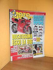 MotoSprint - n° 42 - 20/26 Ottobre 1993 - Salone Catalogo 1994 - Rivista ottima