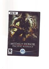 MEDAL OF HONOR : PACIFIC ASSAULT - PC GAME - FAST POST - ORIGINAL & COMPLETE VGC