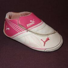 One (1) Right Foot Baby Girl's Puma Shoe Amputee/Replace Size 4 Pink White