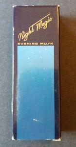 Vintage Avon Night Magic Evening Musk Cologne oz Discontinued Perfume