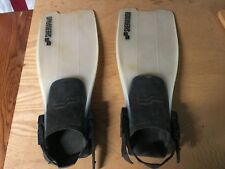SHERWOOD FINS scuba diving Open Heel USED GOOD durable foot flipper