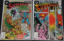 DC WHITMAN VARIANT COVERS 11pc Mid Grade Comic Lot FN-VF Batman Superman JLA