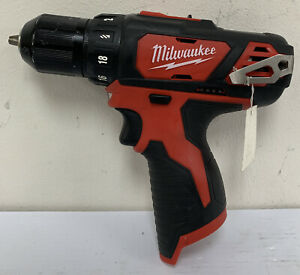 """PREOWNED- MILWAUKEE 2407-20 M12 3/8"""" DRILL/DRIVER BARE TOOL ONLY"""