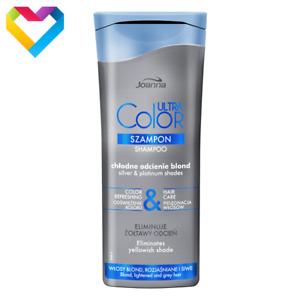 JOANNA Ultra Color System Shampoo Gives PLATINUM Shade Blonde Grey Hair 200ml