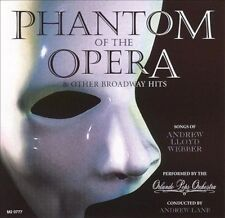 Phantom of the Opera and Other Broadway Hits by Orlando Pops Orchestra (CD, 671