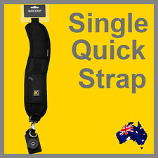 Single shoulder Quick Sling Strap for Camera and DSLR Canon 60D 5D Nikon D7000