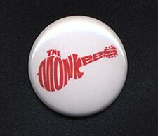 The MONKEES LOGO Badge Button Pin 25mm size - HEY HEY!