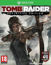 Tomb Raider -- Definitive Edition (Microsoft Xbox One, 2014)