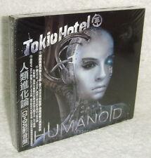 Tokio Hotel Humanoid 2009 Taiwan Ltd CD+DVD (Digipak)