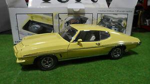 PONTIAC Lemans de 1972 jaune au 1/18 de GMP 8048 voiture miniature de collection