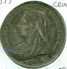 1897 UK/GB CROWN, NICE EXTRA FINE, GREAT PRICE!