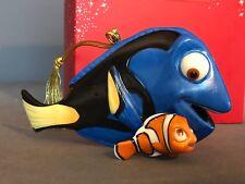 Lenox Disney FINDING DORY Christmas Ornament Flounder LITTLE MERMAID RARE