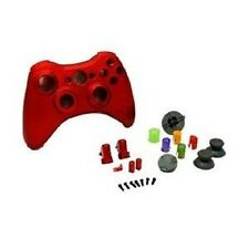 Controller Replacement Housing Shell Chrome Polish RED FOR XBOX 360 Controller