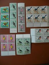 Stamps : Australia 1964 Birds pre-decimal pristine unmounted mint cv£45.85 2016.