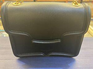 Alexander Macqueen -Heroine Chain Leather HandBag - Black - Immaculate Condition