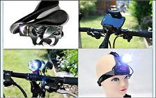 LED CREE Fahrradlampe+Halterung fur Smartphone+Trinkflaschenhalter+Fahrradsattel