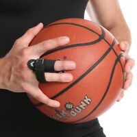 Finger Sleeve Support Sports Basketball Protector Joint Splint Brace Pain Relief