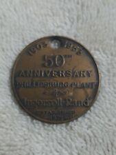1953 Ingersoll Rand 50th Anniversary Token Phillipsburg Plant
